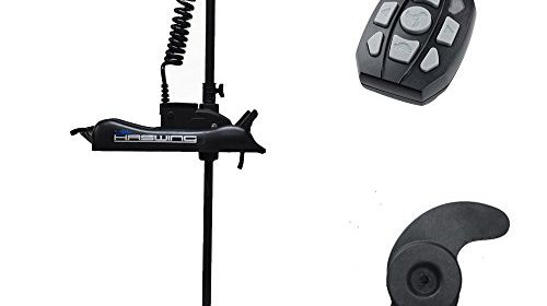 Haswing cayman 24v 80lbs bow mount electric trolling motor for Aquos trolling motor review